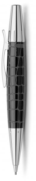 Creion Mecanic 1.4 mm E-Motion Croco Negru Faber-Castell