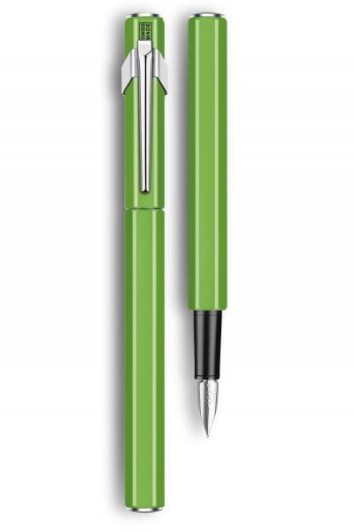 Stilou 849 Metal Green Fluo Caran d'Ache