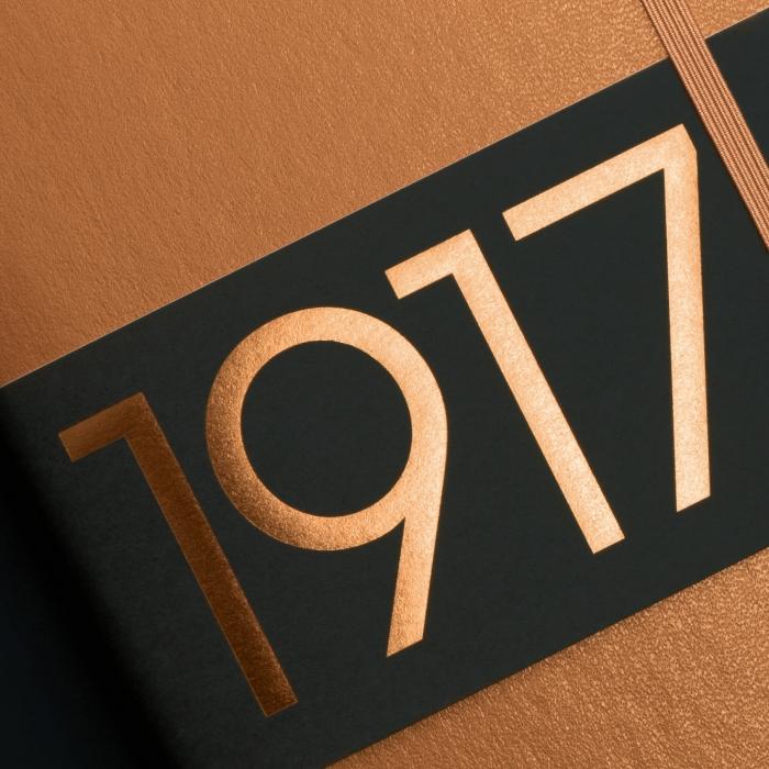 Caiet A5 Velin Coperta Rigida Cooper LEUCHTTURM1917