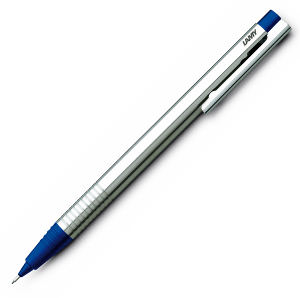 Creion Mecanic 0.5 LAMY Logo Stainless Steel / Blue