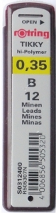 MINA CREION 0.35 B ROTRING