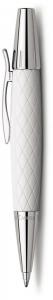 Pix E-Motion Guilloche Rhombus Alb Faber-Castell