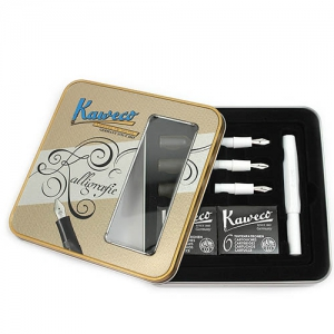 Kaweco CALLIGRAPHY Set White in Cutie Metalica
