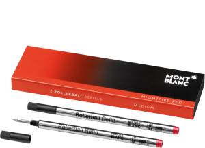 RollerBall Refills NIGHT FIRE RED set 2 buc MONTBLANC