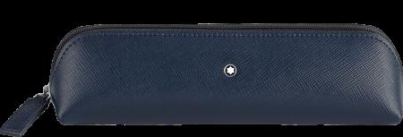 Etui Montblanc Sartorial 2 Pen Pouch Zip Top Blue