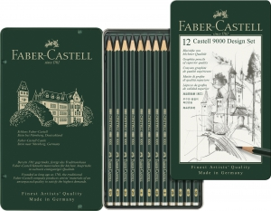 SET DESIGN 12 BUC CREION GRAFIT CASTELL 9000 FABER-CASTELL