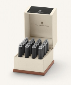 Cartuse Cerneala Mici Carbon Black Graf von Faber Castell 20 buc/cutie
