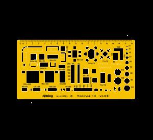 SABLON MOBILIER SCARA 1/50 ROTRING