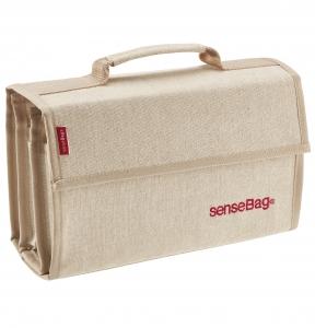 Etui Textil Sensebag Crem pt 72 Instrumente de Scris