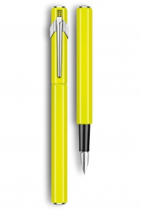 Stilou 849 Metal Yellow Fluo Caran d'Ache