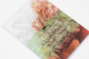 Carte de colorat Artist - Still Life Bouquets Pepin