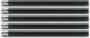 CREION No. V  NEGRU set 5 buc Graf von Faber Castell