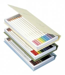 Creioane Colorate Irojiten Rainforest 30 culori Volum 1, 2, 3 Tombow