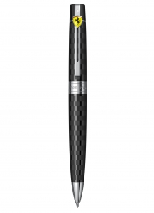 Pix Sheaffer 300 FERRARI CHEQUERED FLAG ENGRAVING BLACK CT