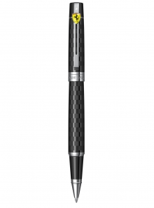 Roller Sheaffer 300 FERRARI CHEQUERED FLAG ENGRAVING BLACK CT