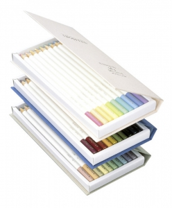 Creioane Colorate Irojiten Woodlands 30 Culori Volum 4, 5, 6  Tombow