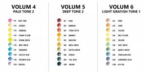 Creioane Colorate Irojiten Woodlands 30 Culori Volum 4, 5, 6  Tombow