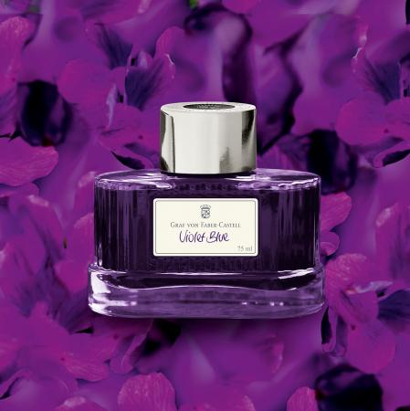 Calimara Cerneala Graf von Faber-Castell Violet Blue 75 ml