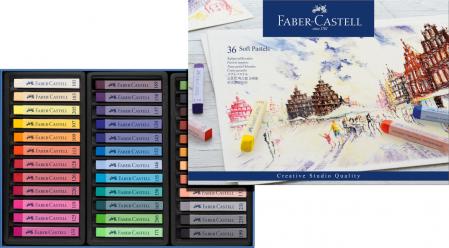 CREIOANE PASTEL SOFT 36 CULORI FABER-CASTELL