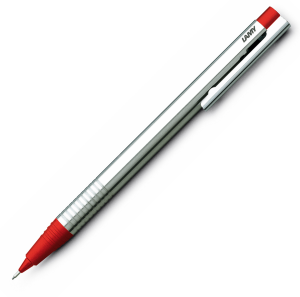 Creion Mecanic 0.5 LAMY Logo Stainless Steel / Red