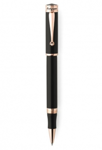Roller Ducale Black & Rose Gold Montegrappa