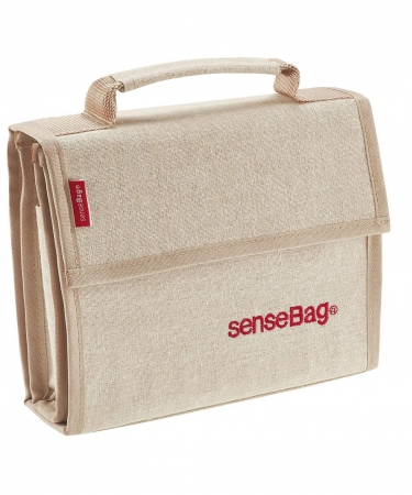 Etui Textil Sensebag Crem pt 36 Instrumente de Scris
