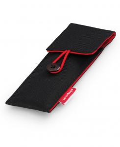 Etui Textil Sensebag Negru pt 3 Instrumente de Scris