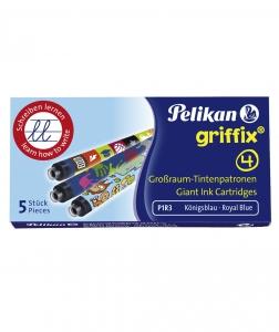 Cartuse Cerneala Griffix set 5 buc Pelikan