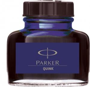 Calimara Cerneala Parker Albastru Inchis 57.50 ml Permanent Quink