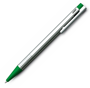 Pix LAMY Logo Stainless Steel / Green