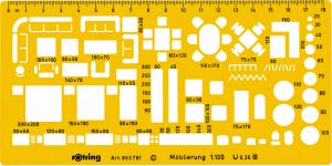 SABLON MOBILIER SCARA 1/200 ROTRING