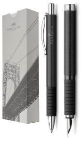Set Faber-Castell Essentio Piele Stilou + Pix