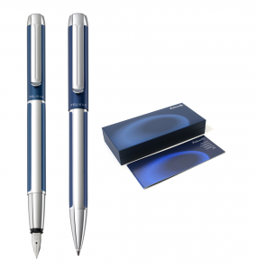 Set Stilou + Pix Pelikan Pura Blue