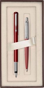 Set Stilou Vector + Pix Parker Jotter Standard Red in Cutie Cadou