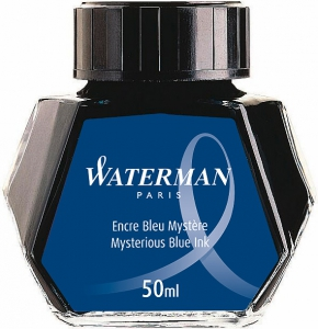 Calimara Cerneala Waterman Mystery Blue 50 ml permanent