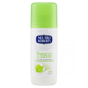 Deodorant roll-on NEUTRO ROBERTS Fresco verde