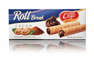 Rulouri din napolitane Elledi Roll Break Cacao