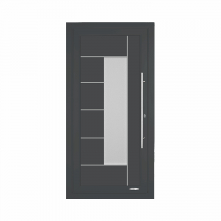 Napoléon, Porte d'entrée résidentielle premium, profilé PVC