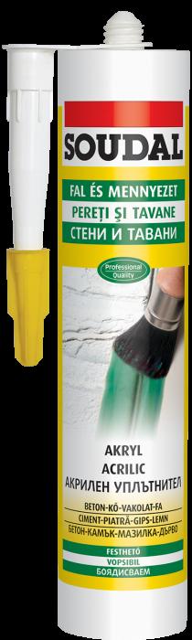 Mastic acrilic Soudal Express Acryl 0
