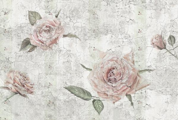 Fototapet XXL4-049 Trandafiri vintage 0