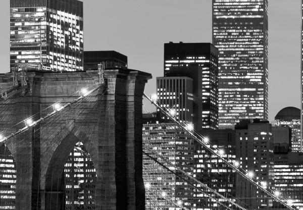 Fototapet 00957 Manhattan noaptea 1