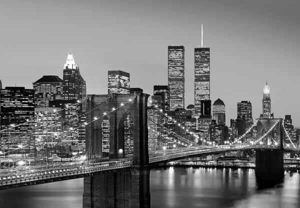 Fototapet 00957 Manhattan noaptea 0