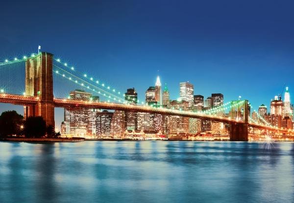 Fototapet 00961 New York East River 0