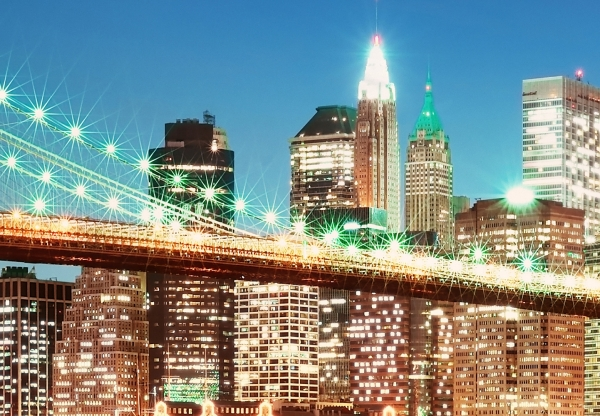 Fototapet 00961 New York East River 1