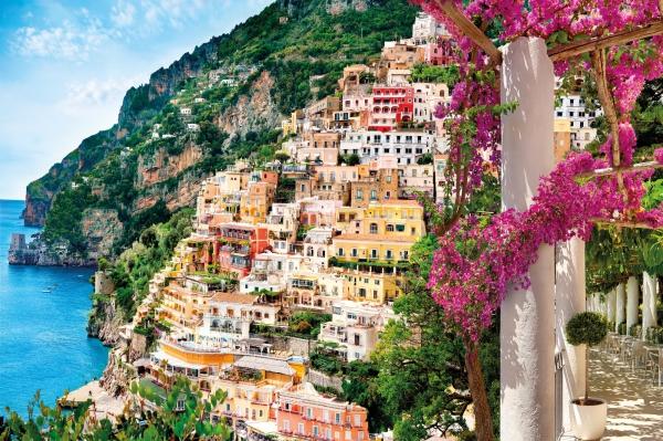 Fototapet XXL4-043 Peisaj din Positano 0