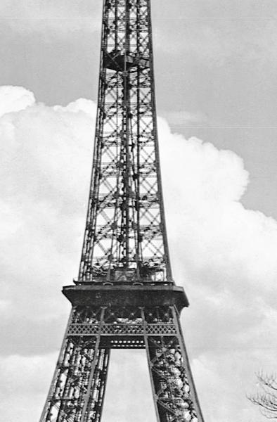 Fototapet 00644 Turnul Eiffel anul 1909 1