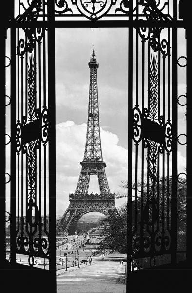 Fototapet 00644 Turnul Eiffel anul 1909 0