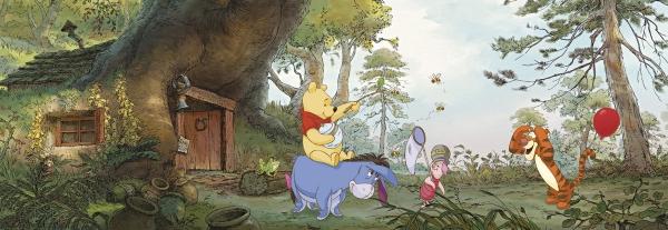 Fototapet 4-413 Casa lui Pooh 0