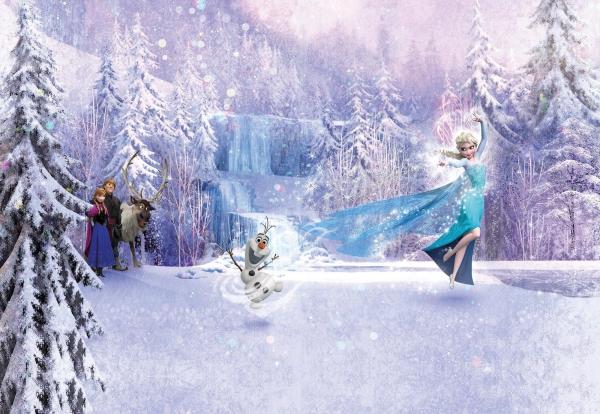 Fototapet 8-499 Frozen Forest 0