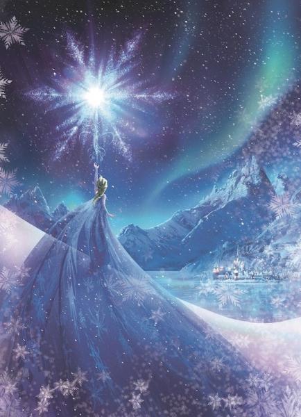 Fototapet 4-480 Frozen Snow Queen 0